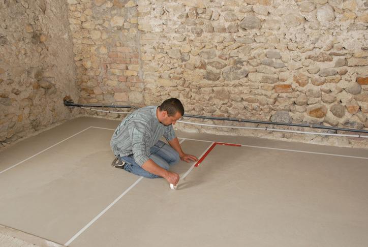 Prot ger et d corer un sol de garage en b ton bricolage for Peinture sol terrasse