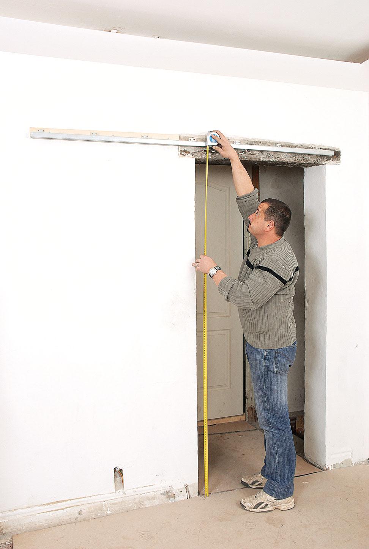 Cr er une porte coulissante bricolage avec robert for Ouvrir une porte avec radio