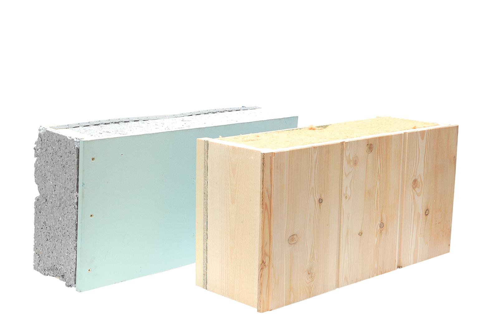 Lambris Bois Sous Toiture : en laine de bois (150 mm) avec sous-face en lambris multicouches (19