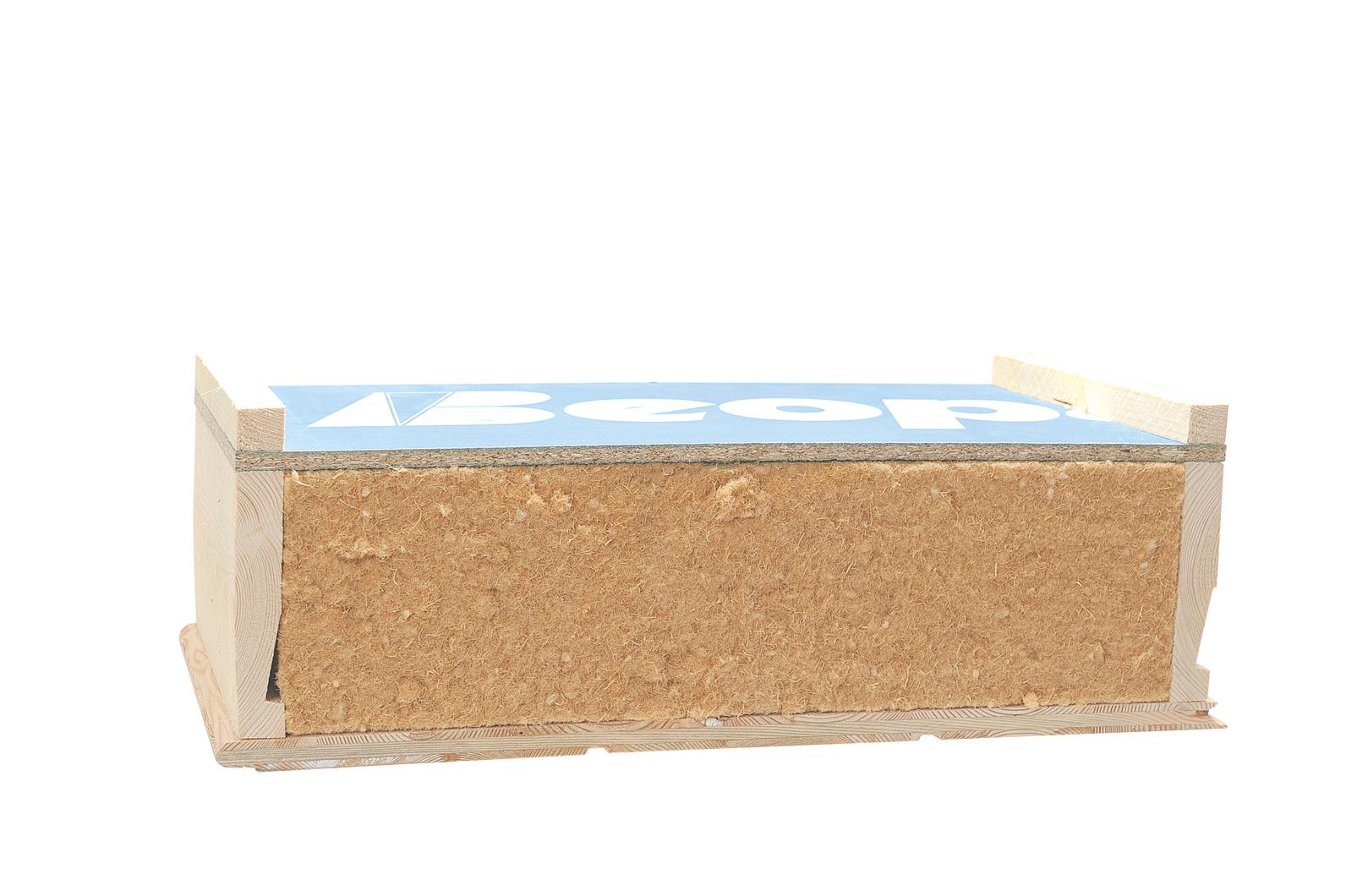 Lambris Bois Sous Toiture : chevronn? BeoBio en laine de bois (150 mm) avec sous-face en lambris