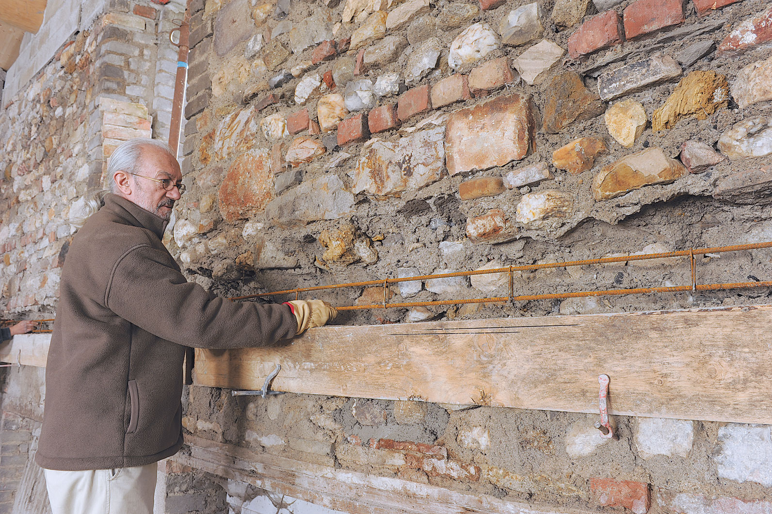 R aliser un plancher b ton avec des l ments manuportables bricolage avec r - Construire un plancher beton ...