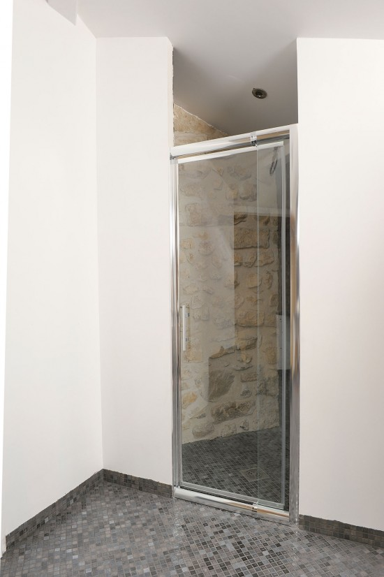 Douche sans porte interesting plus que articles with - Modele de douche sans porte ...