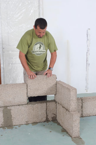 cloison en blocs de chanvre-39