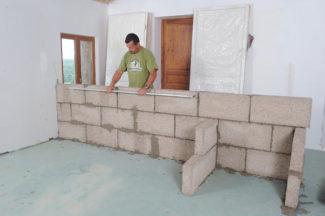 cloison en blocs de chanvre-42