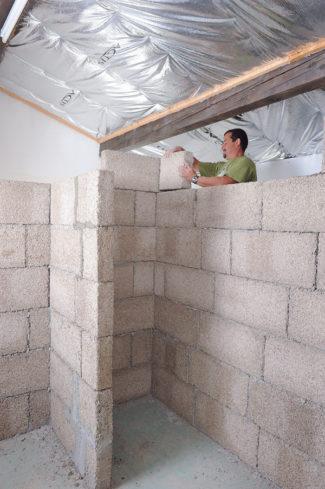 cloison en blocs de chanvre-66