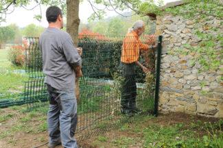 clôture métallique en panneaux-12