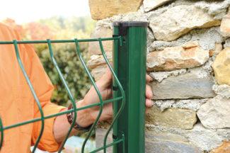 clôture métallique en panneaux-13