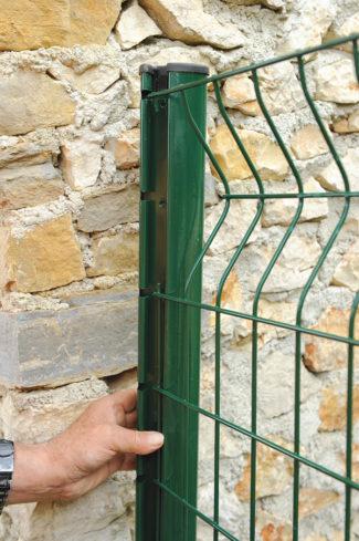 clôture métallique en panneaux-14