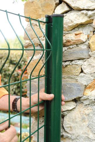 clôture métallique en panneaux-15