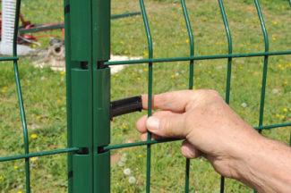 clôture métallique en panneaux-45