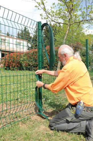 clôture métallique en panneaux-47