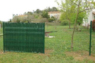 clôture métallique en panneaux-50