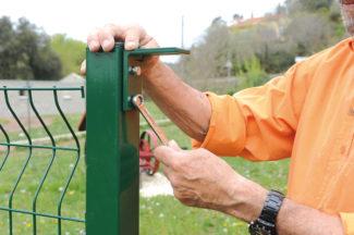 clôture métallique en panneaux-55