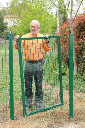 clôture métallique en panneaux-56