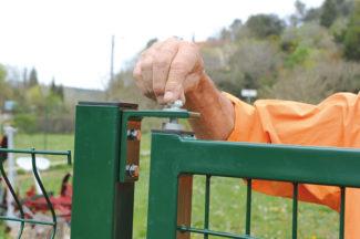 clôture métallique en panneaux-58