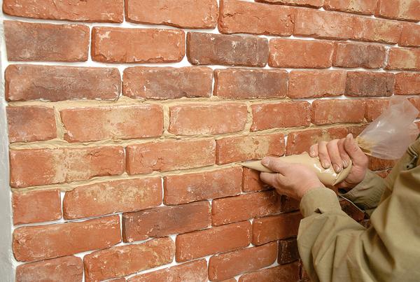 installation de liens de briques