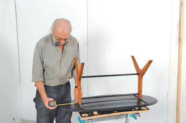 table basse ovale 25 bricolage avec robert. Black Bedroom Furniture Sets. Home Design Ideas