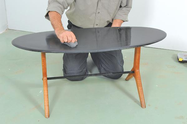 table basse ovale 27 bricolage avec robert. Black Bedroom Furniture Sets. Home Design Ideas