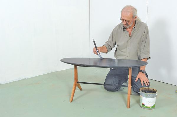 table basse ovale 28 bricolage avec robert. Black Bedroom Furniture Sets. Home Design Ideas