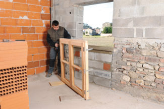Bricolage avec Robert-Doublage mural en briques-08