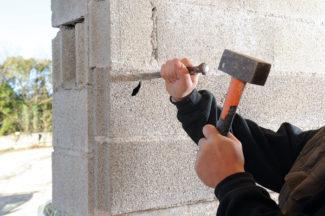 Bricolage avec Robert-Doublage mural en briques-12