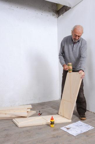 Bricolage avec Robert-escalier en bois-04