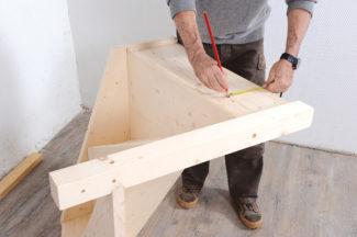 Bricolage avec Robert-escalier en bois-20
