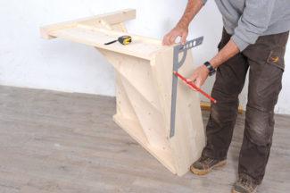 Bricolage avec Robert-escalier en bois-21