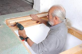 Bricolage avec Robert-escalier en bois-36