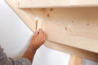 Bricolage avec Robert-escalier en bois-40