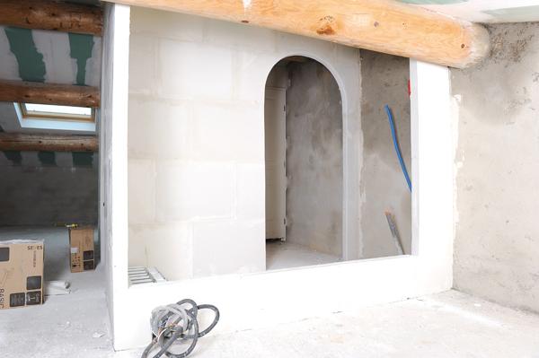 Mur en brique de verre 28 images mur en brique de for Brique de verre salle de bain