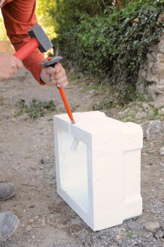 Bricolage avec Robert-pilier en pierre-12