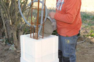 Bricolage avec Robert-pilier en pierre-20