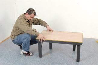 Robert Longechal-Table basse pliante40