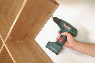 Accrocher une étagère-bricolage agec robert-18