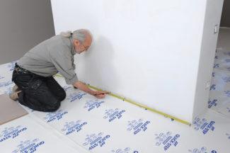 Poser des dalles au sol-bricolage avec robert-09