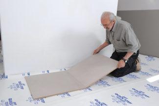 Poser des dalles au sol-bricolage avec robert-10