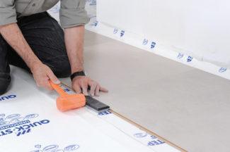 Poser des dalles au sol-bricolage avec robert-13