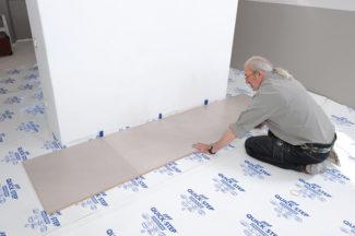 Poser des dalles au sol-bricolage avec robert-16