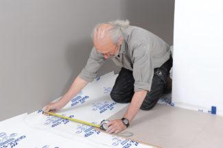 Poser des dalles au sol-bricolage avec robert-18