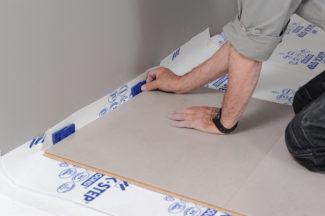 Poser des dalles au sol-bricolage avec robert-21