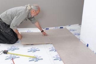 Poser des dalles au sol-bricolage avec robert-23
