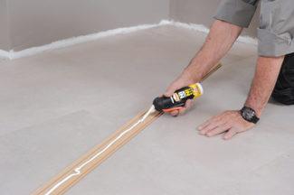 Poser des dalles au sol-bricolage avec robert-49