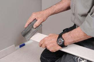 Poser des dalles au sol-bricolage avec robert-57