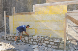 escalier en pierre-05-Bricolage avec Robert