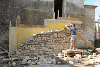 escalier en pierre-08-Bricolage avec Robert
