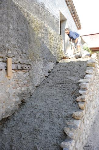 escalier en pierre-25-Bricolage avec Robert