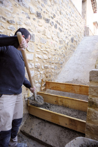 escalier en pierre-54-Bricolage avec Robert