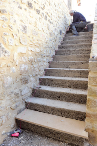 escalier en pierre-76-Bricolage avec Robert