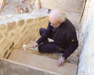 escalier en pierre-80-Bricolage avec Robert